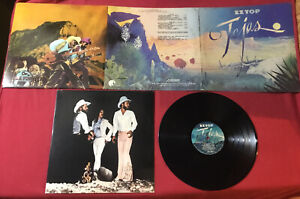 ZZ-Top-Tejas-1976-TRI-FOLD-COVER-London-PS-680-PRC-RI-PRESSING-EX-copy
