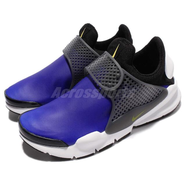 fcb298ad36930 Nike Sock Dart SE Paramount Blue Black Men Slip-On Shoes Sneakers 911404-400