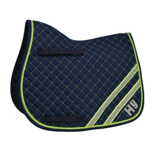 Hy Wither Reflector Saddlepad Be safe and seen when riding on the roads.