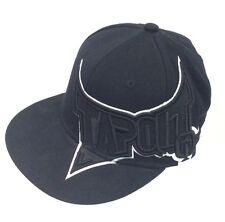 Black TAPOUT Ball Cap Hat Small Medium S/M Tex Flex Wool Spandex