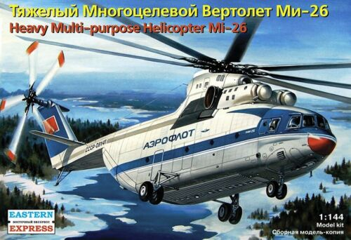 Soviet Heavy Civil Helicopter Mi-26 EASTERN EXPRESS 14503 Modellsatz 1:144