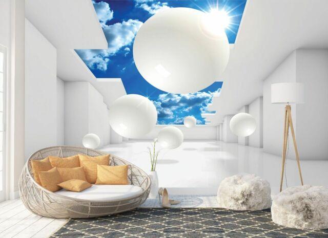 Wall Mural Photo Wallpaper Picture EASY-INSTALL Fleece 3D Garden Tunnel Nature Home, Furniture & DIY Wallpaper & Accessories