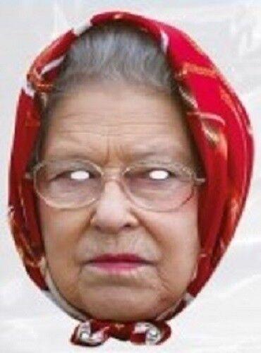 Celebrity Mask reine avec un foulard-Neuf sous cello-Post Worldwide