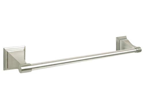 "Satin Nickel Bathroom Accessories Towel Bar 18/"" Brushed Bath Hardware Accessory"