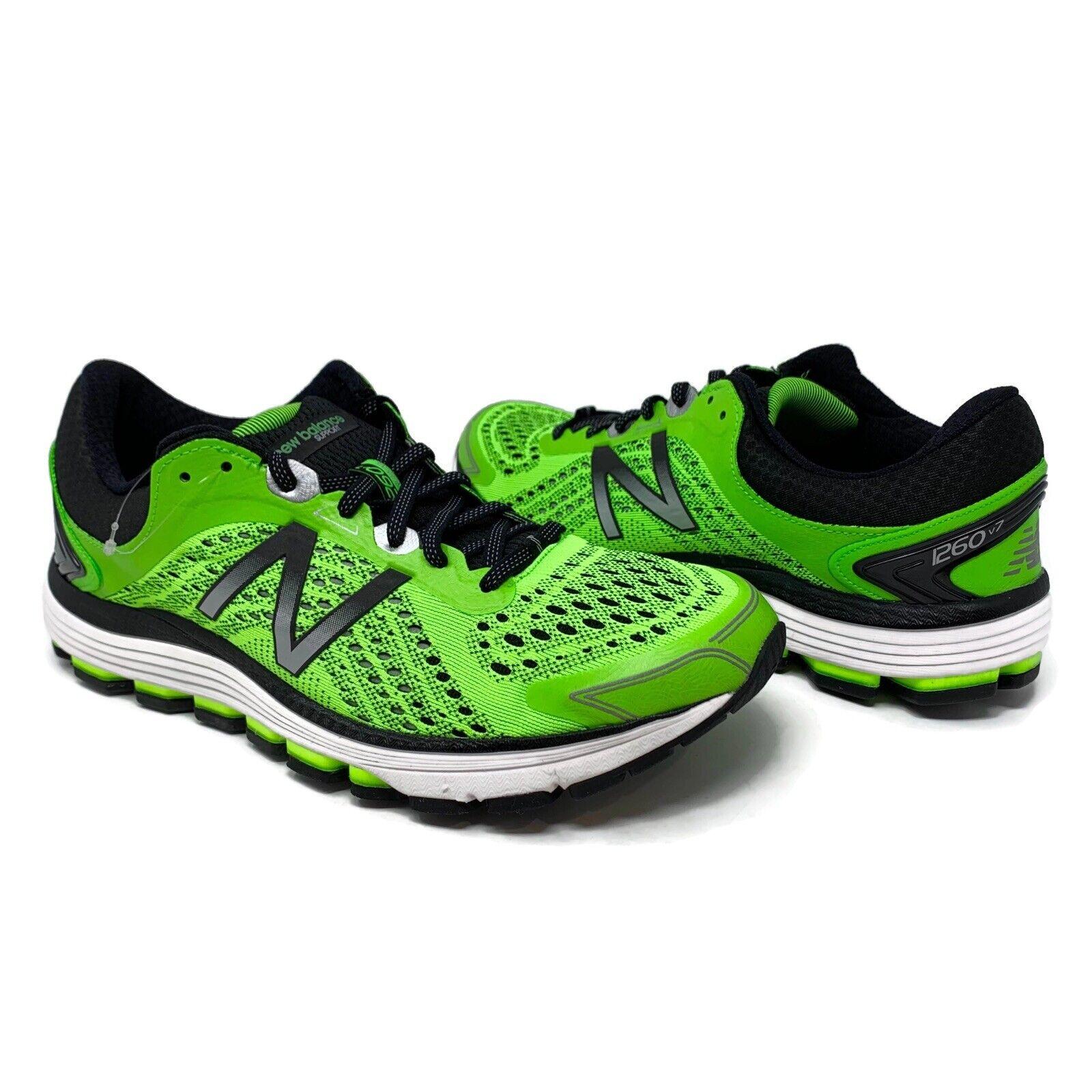 New 1260 v7 Sz10 para hombre Balance energía Cal Negro Zapatos Correr Atléticos M1260GB7