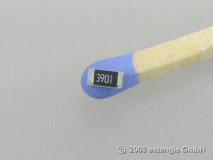 50x SMD 1206 3k9 0,25 Watt 1% metal film Präzison Widerstand resistor resistenza