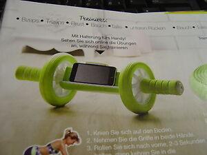 Fitness-Roller mit Handy-Ablage - Rain, Deutschland - Fitness-Roller mit Handy-Ablage - Rain, Deutschland