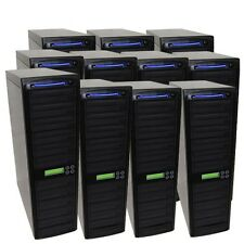 150 SATA Burner Blu-ray CD DVD BD Disc Daisy Chain Duplicator Multiple Tower