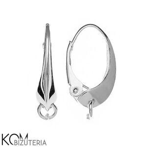 Sterling Silver 925 leverback earring kz 3 1 pair