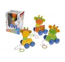 Pull lungo Giraffa Bambini Babys giocattolo apprendimento devlopment Walking colorato divertente