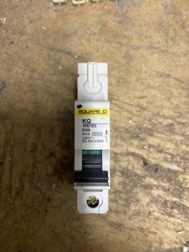 Schneider Square D KQ D20 MCB Disjoncteur