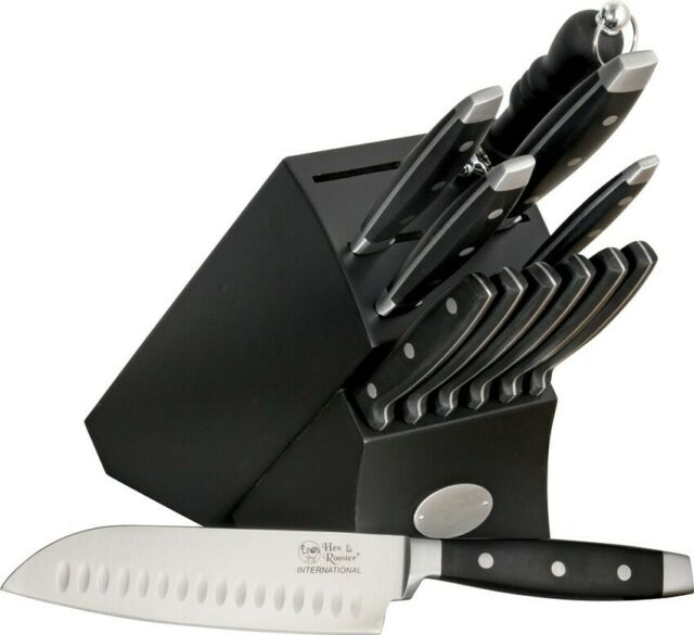 Hen Rooster 13 Piece Kitchen Knife Set Hri028 For Sale Online Ebay