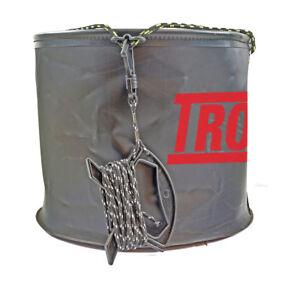 Tronix-Pro-Dry-Feet-Folding-10L-Bucket-With-Cord-TPDFB