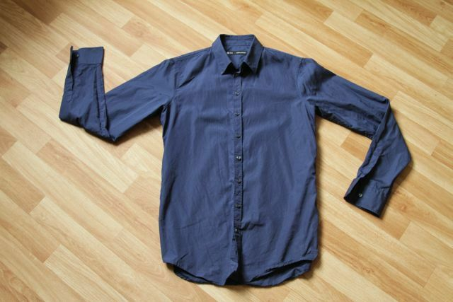 DSQUAROT D2 Herren DARK Blau SHIRT SIZE 50 100% AUTHENTIC