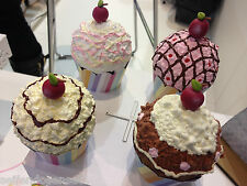 DIY 2 gr Styroporkugel Styroporball Kugel Styropor Törtchen Cupcake Dekotörtchen