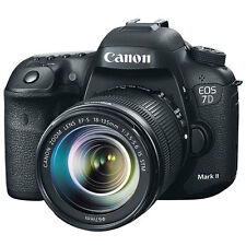 "Canon EOS 7DII 7D Mark II 18-135mm 20.2mp 3"" DSLR Digital Camera New Agsbeagle"