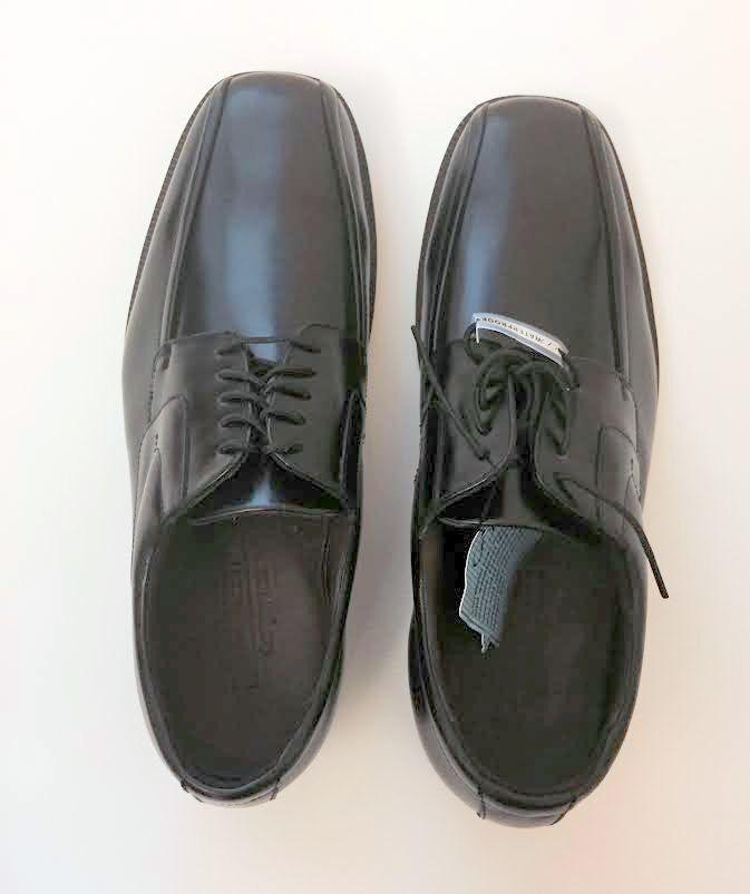 Negro Negro Negro de cuero impermeable Florsheim Craig estilo Nº 18589 - 9.5-NIB 467acf