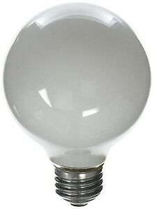 Buy Ge 120v Vanity Globe Light Bulb Finish Pearl White Wattage 40