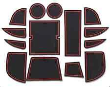 14PCS CAR Red Interior Door Mat Cup Pads Holder For Mazda CX-5 2012-2014