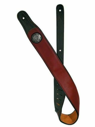 Länge 130 cm Breite 6 cm Original Gaucho Echt Leder Gurt für GITARRE rot etc