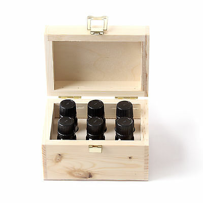 Fragrant Oil Starter Pack In Wooden Gift Box - 6 x 10ml (GIFTBOXFO6)