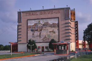 Trail Drive In Movie Theater Sw Military Dr San Antonio Tx 1982 View 8x12 Photo Ebay