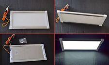 Lusso Interno LED bianco Pannello Lampadina Lampada Roulotte Camper Yacht 12V10W