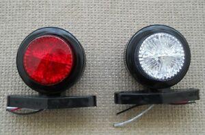 2 Led Standlicht Marker 24 Volt Lampe Fur Scania Volvo Daf Lkw 4x4 Anhanger Ebay