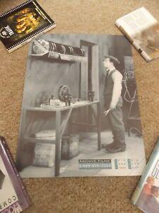 SHERLOCK-JUNIOR-1924-BUSTER-KEATON-17-034-BY22-034-b-w-ADVERTISING-POSTER-NICE