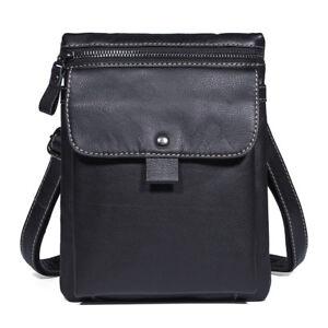 Mens-Leather-Shoulder-Messenger-Bag-7-9-034-Tablet-Bags-Bum-Fanny-Waist-Belt-Pack