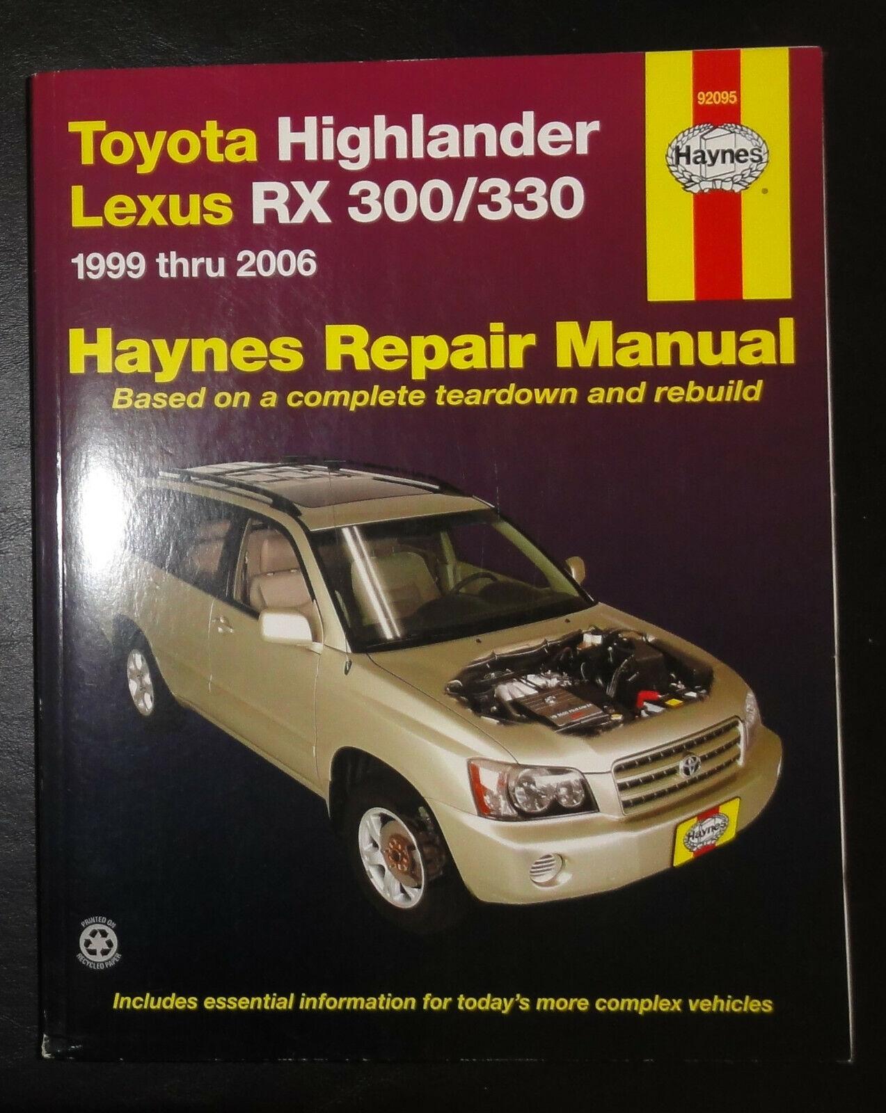 Haynes 99095 Technical Repair Manual