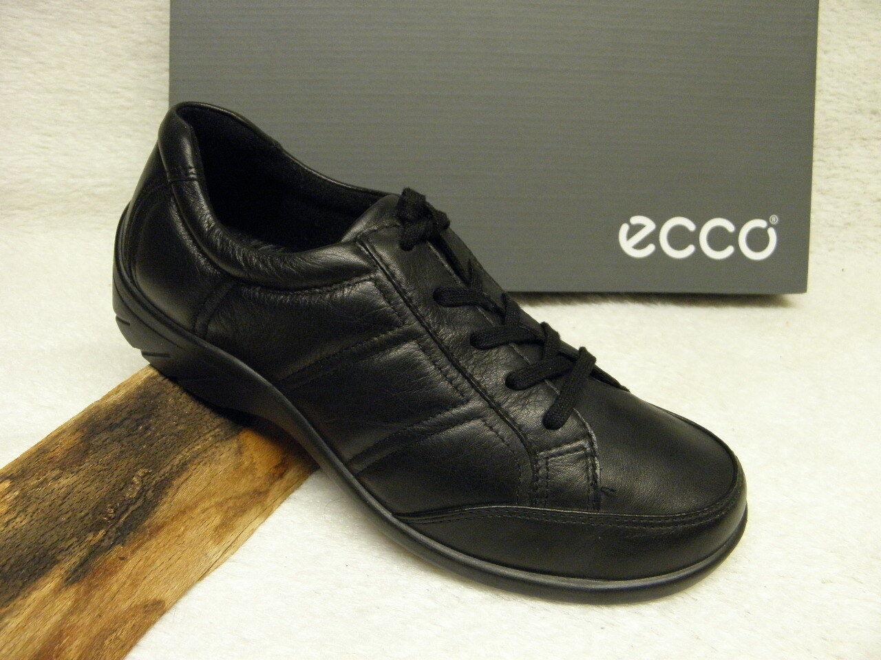 Ecco ® ROTuziert bisher  bisher ROTuziert   schwarz + gratis Premium-Socken (Z40) 446cd0