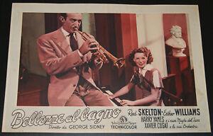 fotobusta film BATHING BEAUTY - BELLEZZE AL BAGNO Harry James Ethel ...