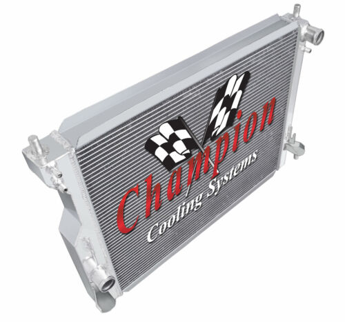3 Row RS Champion Radiator for 2005 06 07 08 09 10 11 12 13 2014 Ford Mustang