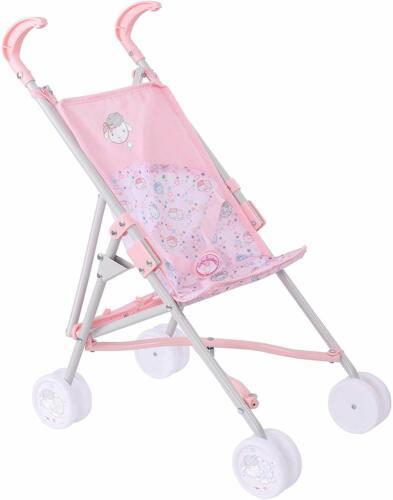 Childrens Rosa Baby Doll Passeggino pieghevole Regalo per Ragazze passeggini età 3