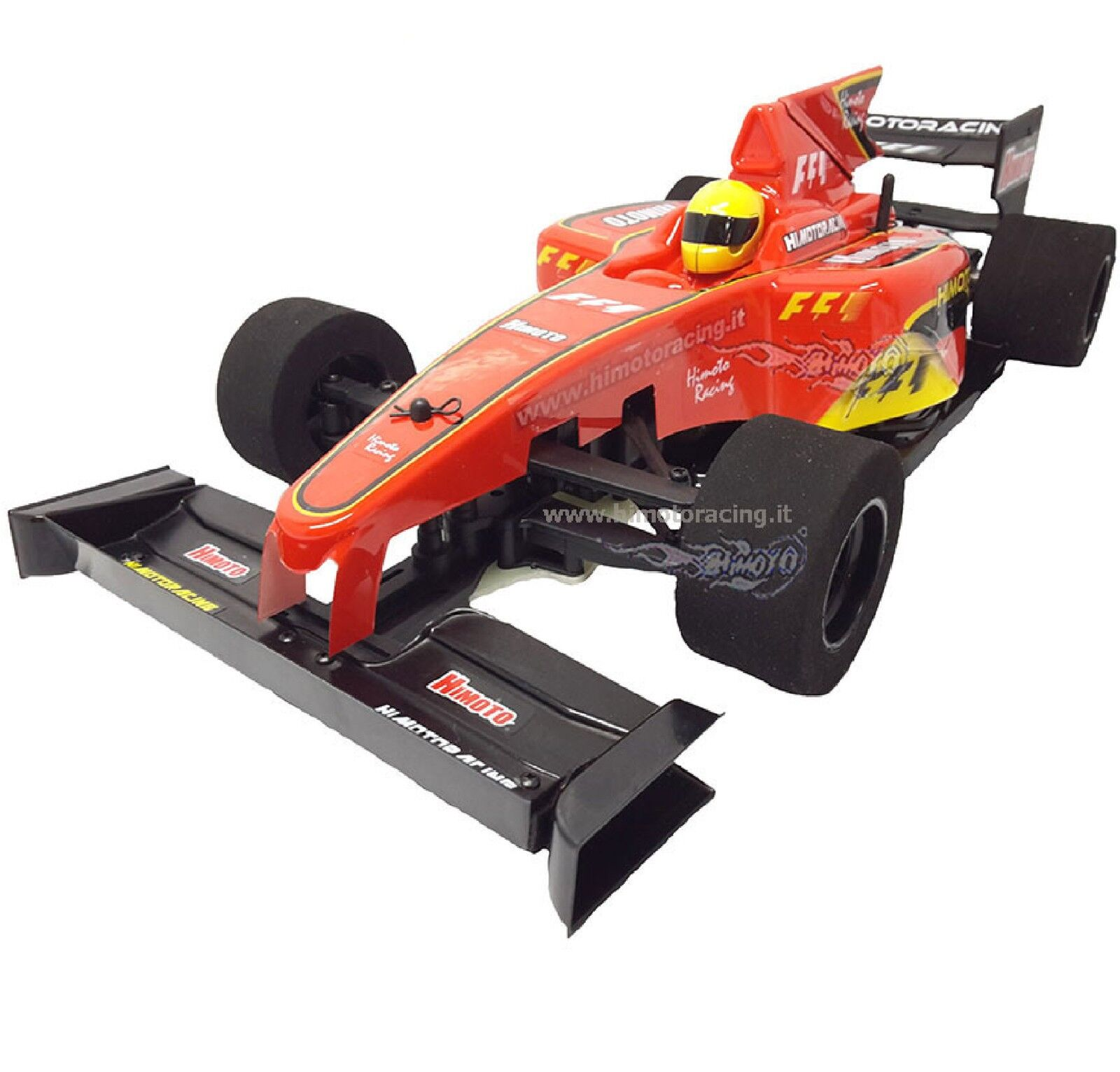 FORMULA CAR ON ROAD 2.4GHZ MOTORE ELETTRICO SPAZZOLE RC540 1 10 2WD RTR HIMOTO