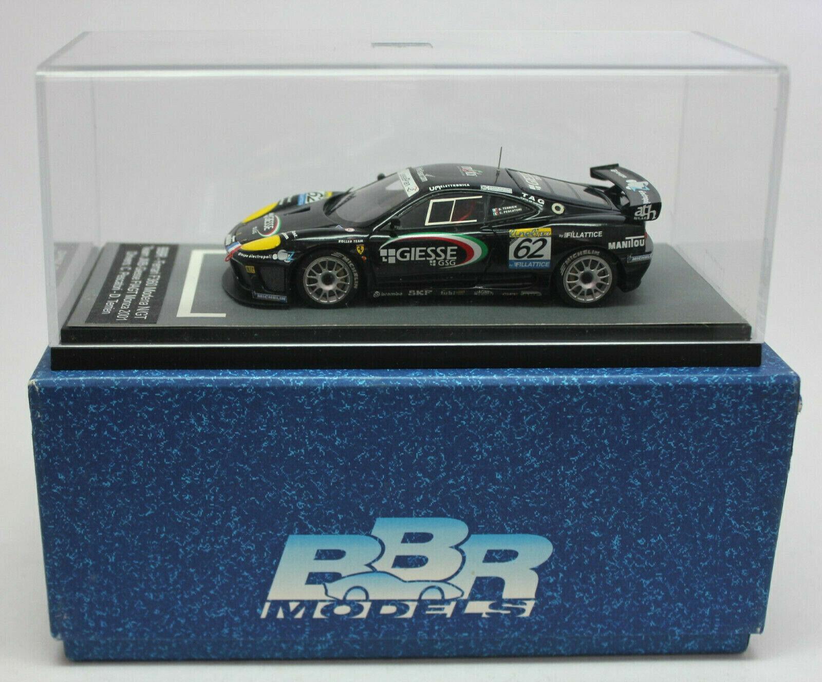 1 43 BBR FERRARI F360 MODENA N GT - Team JMB-Giesse FIAGT MONZA 2001