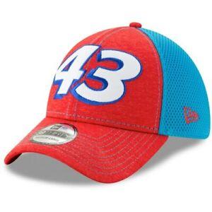 New-Era-Bubba-Wallace-Red-Light-Blue-Tonal-Shade-Number-39THIRTY-Flex-Hat