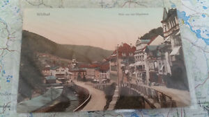 Niedrigerer Preis Mit Wildbad Blick Von Der Olgastrasse Ansichtskarte Postkarte 5288 Ausreichende Versorgung Ansichtskarten