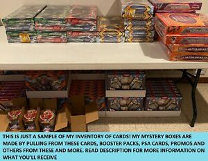 Pokemon-Mystery-Box-72-Booster-Packs-Vintage-WOTC-Holo-GX-EX-PSA-Graded
