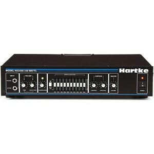 hartke ha3500c 350w tube preamp bass head with rack ears included ebay. Black Bedroom Furniture Sets. Home Design Ideas