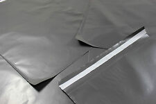 50 GREY MAILING BAGS 12x16 16x12 STRONG LARGE  POLY POSTAL POSTAGE 305x405mm