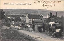 CPA 51 TROISSY VUE PITTORESQUE A LA TUILERIE ( MACHINE AGRICOLE SCENE DE FENAISO