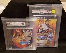 Factory Sealed Lot - Capcom vs SNK 1&2 - VGA 90/85+ PS2, Dreamcast - NTSC US