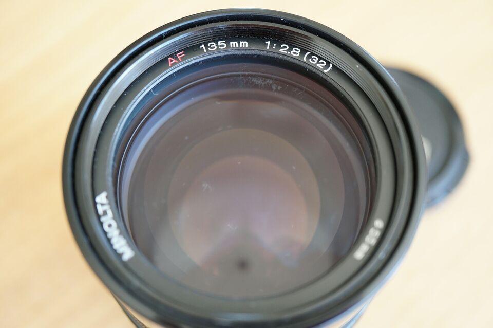 Prime / Fast, Minolta, 135mm F2.8