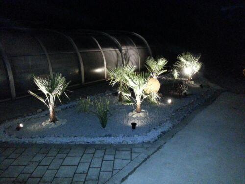 Kamilux ® k5071 Piso Lampada Pavimento Suolo Faretto da INCASSO STAGNO FARETTO circa /& LM 5w