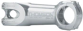 Vástago de montaña Thomson Elite X4 80mm + - 0 grado 31.8 1-1 8  Rosca Plata
