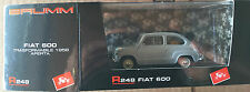 "DIE CAST BRUMM ""FIAT 600 TRASFORMABILE APERTA 1956"" R248 1/43"