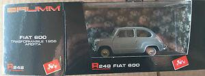 DIE-CAST-BRUMM-034-FIAT-600-TRASFORMABILE-APERTA-1956-034-R248-1-43