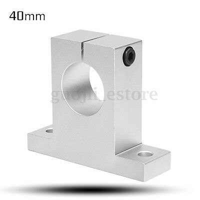 40mm Aluminium Alloy Spindle Motor Mount Bracket Neck Clamp Holder for CNC Route